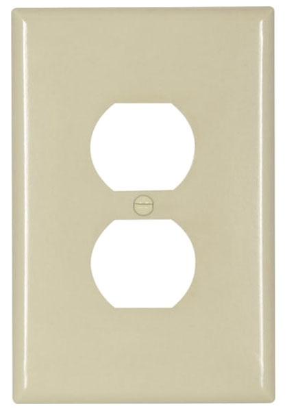 "Ivory Recep Plate Jumbo 3-1/2"" x 5-1/4"""