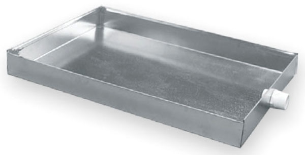 "28"" x 36"" Sheet Metal Drain Pan - Standard"