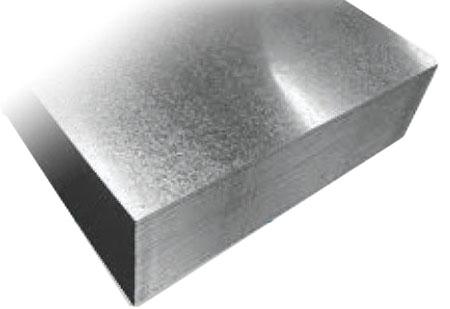 "24"" x 24"" Galvanized Sheet Metal Flat Stock"