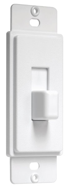 Decora Cover Up Toggle Adapter White