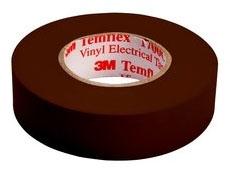 Shurtape EV057C Brown 3/4x66 Color Codeing Tape (3M 1700C-Brn-3/4x66ft)