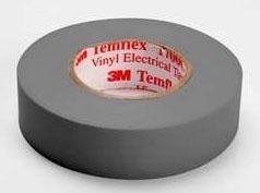Shurtape EV057C Gray 3/4x66 Color Coding Tape 104816 (3M 1700C-Gry-3/4x66ft)