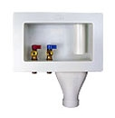 """1/2"""" Soldered Washing Machine Outlet Box - WATER TITE, 10-1/4"""" x 3-5/8"""" x 6"""""""