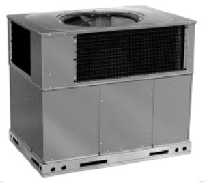 41000 BTU Packaged Air Conditioner - 208/230 V, R-410A Refrigerant, 14 SEER/11 EER
