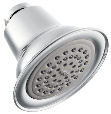 Single Spray Fixed Mount 1.75 GPM Showerhead - EASY CLEAN XLT, Chrome Plated
