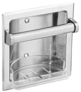 Recessed Soap Dish and Grab Bar