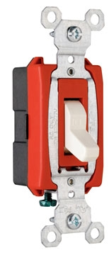 (P&S) CS20AC1GRY 20A 120/277V GRAY COMMERICAL SPECIFICATION GRADE SWITCH