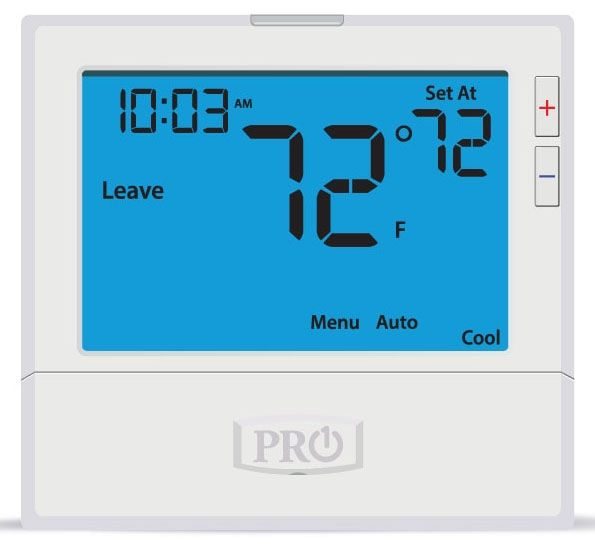 7-Day 5/1/1 WIFI Enabled Programmable Wired Thermostat - 8 Sq Inch Display, Commercial Grade, 18 to 30 VAC, 1.5 A