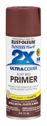 Red Primer 2X Spray Paint 12oz