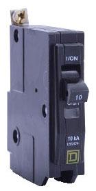 SQD QOB120 SP 120V 20A BOLT-ON CKT BRKR 10K AIC