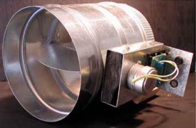 """12"""" Steel Round Air Damper"""