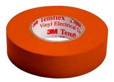 Shurtape EV057C Orange 3/4X66 Color Coding Tape 200787 (3M 1700C-Org-3/4x66ft)