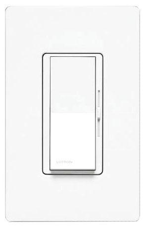 LUT DVSTV-WH WHITE 0-10v LED DIMMER Decorat Style SP/3 WAY 120-277v