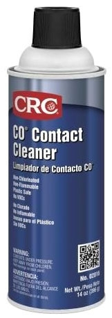 CRC 02016 CO CONTACT CLEANER Contact Cleaner 14oz Aerosol