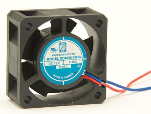 Orion Dc Cooling Fan W/Wire Lead 12 Vdc