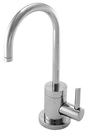 3.6 Liter, Lead-Free, Satin Brass, Solid Brass, Cold, Water Dispenser Faucet