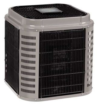 """35"""" x 35"""" x 46-7/8"""", 48000 BTU/Hr Cooling, 208/230 VAC 60 Hz 1-Phase, 19 SEER, R-410A, 2-Stage, High Efficiency, Mainline, Outdoor, Communicating, Split System Air Conditioner"""