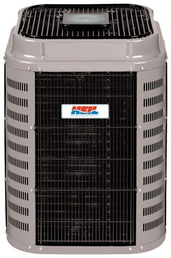 "31-3/16"" x 31-3/16"" x 38-15/16"", 48000 BTU/Hr Cooling, 208/230 VAC 60 Hz 1-Phase, 19 SEER, R-410A, 5-Stage, 8-Circuit, High Efficiency, Variable Speed, Mainline, Outdoor, Split System Heat Pump"