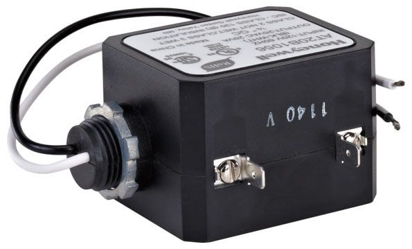 120 VAC Input, 24 VAC Output, 800 mA Output, Universal Mounting Clip Connection, Screw Terminal, Hand Shower Transformer