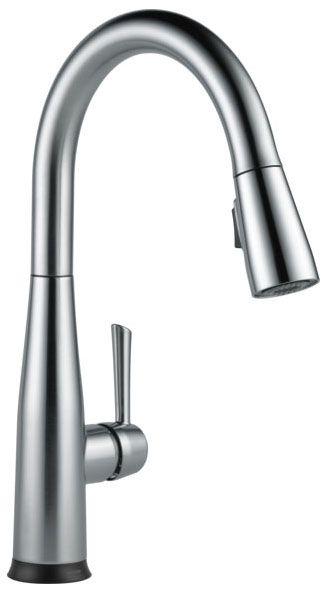"16"" x 9-21/32"" x 9-3/8"", 1.8 GPM, Lead-Free, Arctic Stainless, High-Arc Spout, 1-Handle, Deck Mount, Kitchen Faucet"