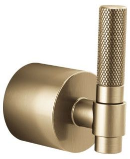 Luxe Gold, T-Lever, Bathroom Faucet Handle Kit