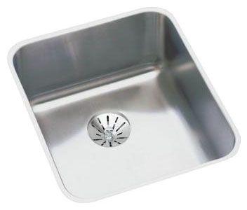 "16"" x 18-1/2"" x 4-3/8"", 18 Gauge, Lustrous Satin, Stainless Steel, Undermount, Single Bowl, Kitchen Sink"