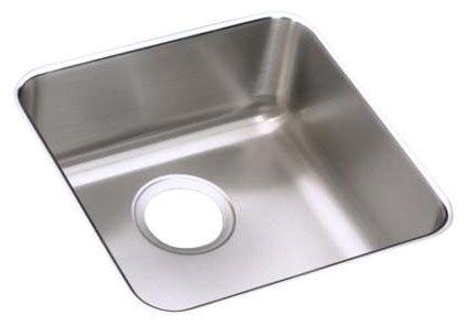 "16-1/2"" x 16-1/2"" x 5-3/8"", 18 Gauge, Lustrous Satin, Stainless Steel, Undermount, Single Bowl, Kitchen Sink"