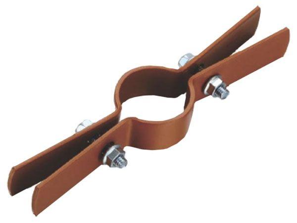 "2"" Copper Tubing Riser Clamp - Copper Clad Steel"