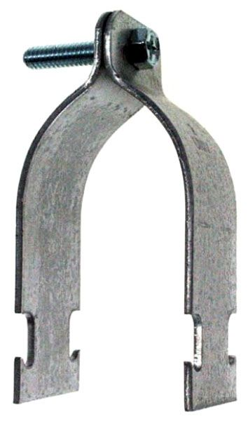 "3/4"", Electrogalvanized, Rigid Pipe to Strut, Strut Clamp"