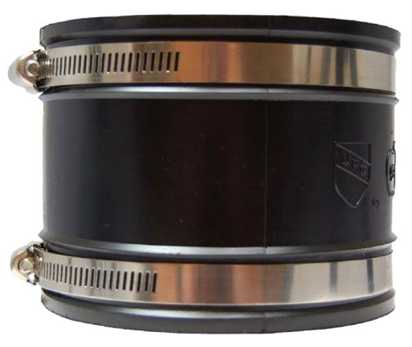 """3"""" x 3"""", Rubber, Flexible, Straight, Coupling"""