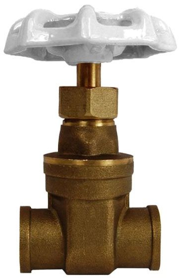 "1"", Soldered x Soldered, Non-Rising Stem, 200 PSI, Lead-Free, Brass, Hand Wheel, Gate Valve"