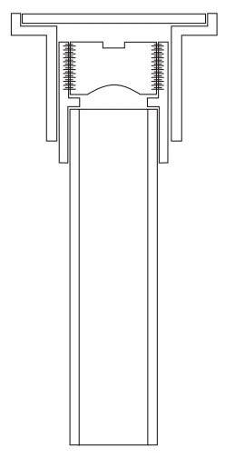 "3"", Electrofusion Joint, Flame Retardant Polypropylene, Floor, Adjustable, Cleanout"