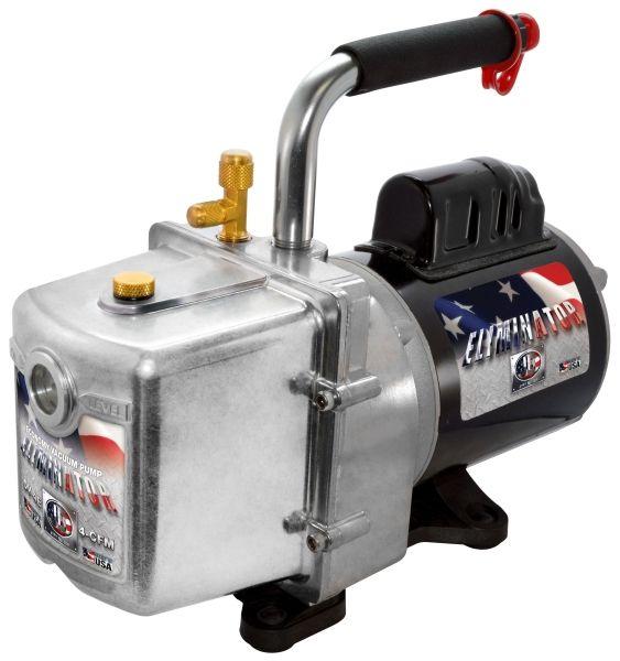 1/2 HP, 115 VAC 60 Hz, 1725 RPM, 25 Micron, 4 CFM, 25 Oz Oil, 2-Stage Direct Drive, Vacuum Pump