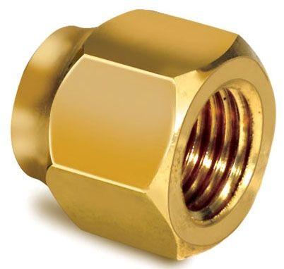 "5/8"", Brass, Short Forged, Flare, Refrigeration Nut"