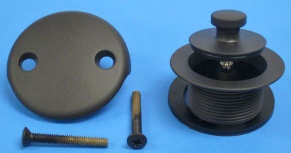 "1-1/2"", Oil Rubbed Bronze, Brass, Lift and Turn, Bath Waste Conversion Kit"