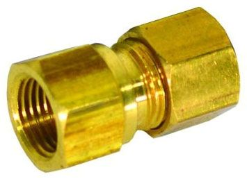 "1/4"" x 1/2"", Compression x FPT, Lead-Free, Brass, Increaser, Connector"