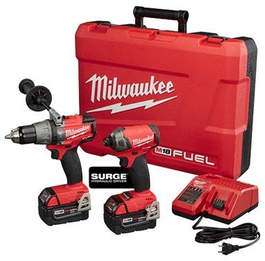 2-Piece, 18 V, Drill/Driver Combo Kit