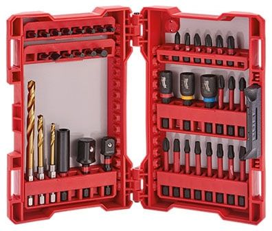 29-Piece, Heat Treated Steel, Torx/Square/Slotted/Phillips/Hex, Drill and Drive Set