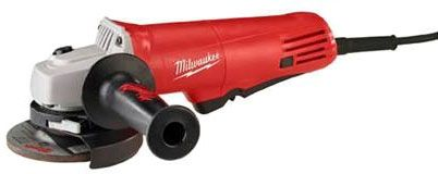 "11.8"" L, 5/8""-11 TPI Spindle, 120 VAC, 7.5 A, 825 W, 10000 RPM, Wheel, Small, Corded, Angle Grinder"
