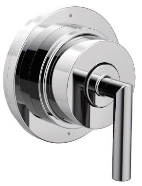 "5"" Diameter, Chrome Plated, Metal and Brass, Lever, Transfer Valve Trim"