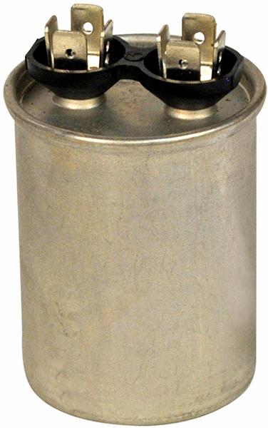 440 VAC 50/60 Hz, 45 Microfarad, Round, 1-Section, Run Capacitor for HVAC/R Motor