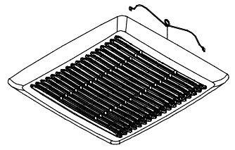 Ventilation Fan Grille Assembly