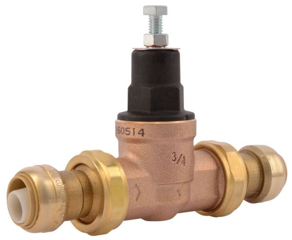 "3/4"", Lead-Free, 10 to 70 PSI, Direct Operated, Pressure Regulating Valve"