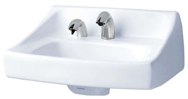 "20-7/8"" x 18"" x 11-1/8"", 7-1/2"" Rough-In, Cotton, Vitreous China, 1-Hole, Single Center, Single Bowl, Wall Hung, Bathroom Sink"