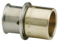 "1-1/2"" x 1-1/2"", PEX Press x C, 160 PSI, Lead-Free, Bronze, Straight, Female Adapter"