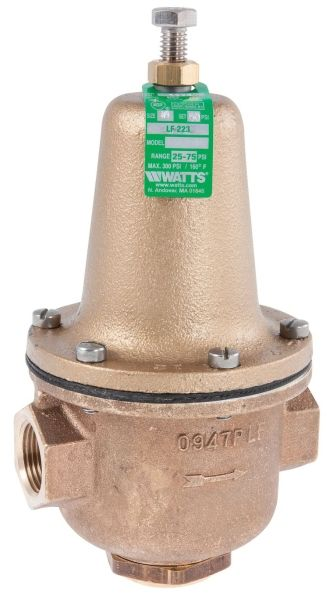 "2"", FPT x FPT, 300 PSI, Lead-Free, Brass, High Performance, High Capacity, Pressure Reducing Valve"