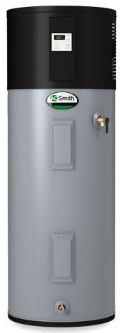 80 Gallon, 208/240 VAC 60 Hz 1-Phase, 30 A, Standard, Hybrid, Residential Electric Water Heater