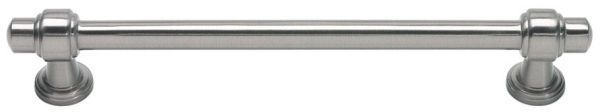 "7-5/8"" x 3/8"", Brushed Nickel, Zinc Alloy, D-Handle, Cabinet Pull"