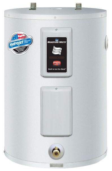 37 Gallon, Electric Water Heater, 4500 W, 208/240V 1-Phase, Steel Tank, Lowboy, Residential