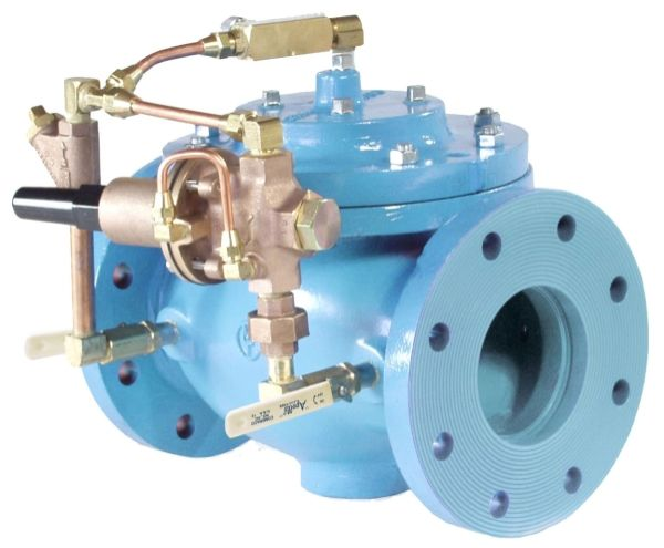 """4"""", Flanged x Flanged, 250 PSI, Lead-Free, Ductile Iron, Globe/Pressure Reducing Automatic, Control Valve"""